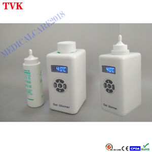 Portable Gel Warmer for Ultrasound Device, LED Display Constant Temperature