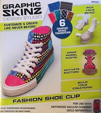 Graphic Skinz Design Studio Fashion Shoe Clip High Top Tennis Shoe Keychain New