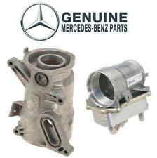 For Mercedes W203 C215 C208 C240 Set of Oil Filter Housing & Oil Coolers Genuine