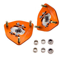 2x Front Coilover Camber Plate Top Mount For Nissan S13 S14 Silvia 180SX 240SX