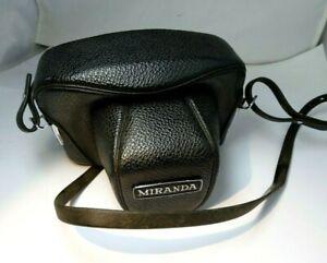 Miranda Sensorex A Camera Case ever ready camera vintage genuine w/ strap