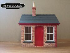 Garden railway G scale station ticket office and waiting area Gauge 3