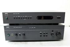 NAD 317 Stereo Integrated Amplifier w/ Matching NAD C440 Tuner