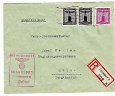 Germany FRANCHISE STAMPS-Sc#S1(pair)#S11(HiValue)-N.S.D.A.P.-DUSSELDORF