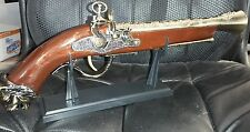 Naval Pirate Toy Gun Flintlock Blunderbuss Replica Pistol Cosplay COSTUME A