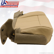 2011 2012 Ford Expedition Driver Side Bottom Leather Replacement Seat Cover Tan