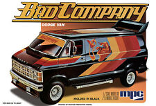 MPC 1982 Dodge Van BAD COMPANY model kit 1/25