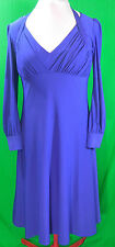 Women's Purple Dress By Miss Tina Size M