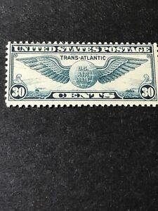 Scott#C24 Winged Globe 30¢ Blue MLHOG