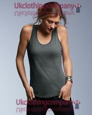 Anvil Women's Tri-Blend Racerback Tank - Ladies sleeveless t-shirt - XS to 2XL