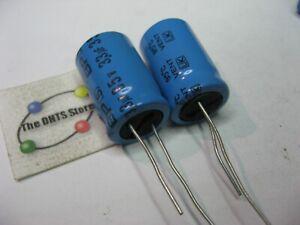 Non-Polarized NP BP Electrolytic Capacitor 3.3uF 35V Jamicon NOS Qty 2