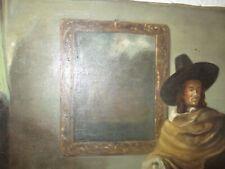 ***** Antikes Ölbild,80 x 55cm, handgemalt,