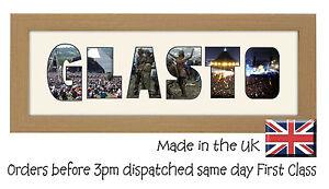 Glasto Glastonbury Music Festival Photo Frame Picture Collectable Memorabilia