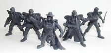 Plastic toy soldiers. Tehnolog. Battle of Fantasy. Zombies. Gray color 1/32
