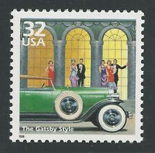 F. Scott Fitzgerald The Great Gatsby Style Duesenberg Limousine Automobile Stamp
