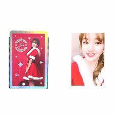 Twice Jihyo 2PC Official Photocard 3rd mini Christmas Edition Photo Card K-pop B