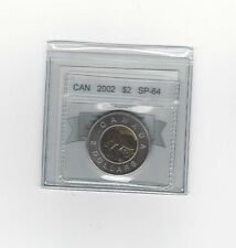 **2002**Coin Mart Graded Canadian, Toonie*SP-64*