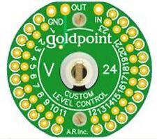 GOLDPOINT V24C CUSTOM (BLANK) MONO STEPPED ATTENUATOR POTENTIOMETER (2)