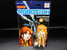 1985 vintage Matchbox ROBOTECH Lisa Hayes MOC sealed Macross action figure anime