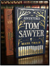Tom Sawyer and Huckleberry Finn by Mark Twain New Leather Bound Gift Edition Set