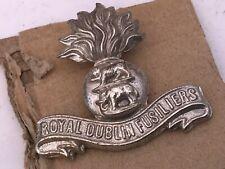 Royal Dublin Fusiliers cap badge 1ww
