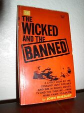 The Wicked and the Banned by John Roeburt (Macfadden #60-147,1963,Paperback)