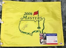 Scott Verplank 2006 THE MASTERS Augusta National FLAG AUTOGRAPHED SIGNED PSA/DNA