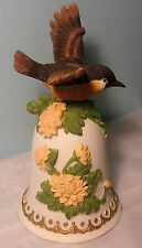 Heritage House Garden Symphony Series Bird bell with music box