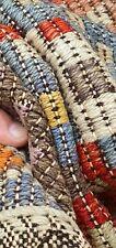 Stunning Vintage 1950-1960s Natural Dye Nagorno-Karabakh Wool Cicim Rug 6x12ft