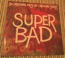BULK LOT VARIOUS ARTISTS SUPER BAD 20 ORIGINAL HITS VINYL LP 1974 ORIGINAL PRESS