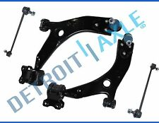 New 4pc Front Lower Control Arms and Ball Joints + Sway Bar Links for Volvo S40