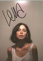 Lena Mayer-Landrut UH Only Love Musik original signiert Autogrammkarte AK 9489