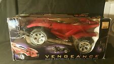 New* Platinum Collection Red Vengeance Radio Controlled All-terrain Racing Car