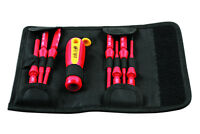 Laser Tools 7434 Interchangeable  VDE GS Torx Star Screwdriver Set 9pc T8 - T30