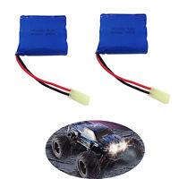 2Pcs Original Rechargeable 9.6V 800 Mah Li-po Battery for GPTOYS S911 RC Cars