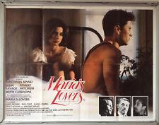Cinema Poster: MARIA'S LOVERS 1984 (Quad) Nastassja Kinski John Savage