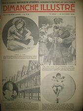 N° 712 REPORTAGES ROMAN CONAN DOYLE BD BICOT M. POCHE DIMANCHE ILLUSTRE 1936