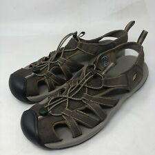 Keen Men Brown Waterproof Fisherman Sport Sandal Shoes Size 14 US