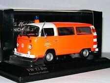 Minichamps 1976 Volkswagen T2 Bus Frankfurt Fire Service LTD ED 1/43
