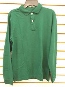 Boys IZOD Assorted Long Sleeved Uniform Polos Size 4 - 18/20H