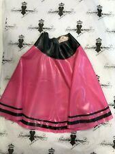 ** Latex Skirt *PS TRANS FUCHSIA/BLK * Westward Bound 12 RRP £94.55