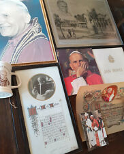 More details for rare historical papal memorabilia — roman catholic pope john paul ii