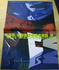 swiss EXHIBITION xxl POSTER 1992 - NEW REALITIES - COMPUTE RANIMATIONS art print