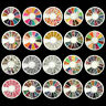3D Nail Art Rhinestones Crystal Glitters Acrylic Tips Decoration Manicure Wheel