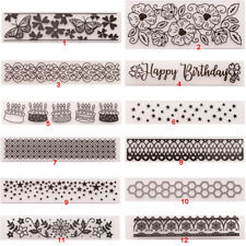 Star Lace Folder Plastic Template Embossing Dies Stencil DIY Flower Vine Hive