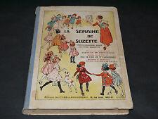 ALBUM DE LA SEMAINE DE SUZETTE 2 ème SEMESTRE 1939 ( 27 a 52)