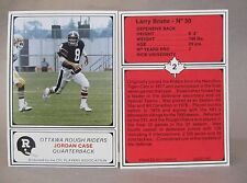 1982 OTTAWA ROUGH RIDERS CFL Football Jogo 24 CARD SET complete high grade