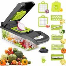 8 in 1 Multifunction Vegetable Chopper Food Fruit Dicer Cutter Veggie Slicer
