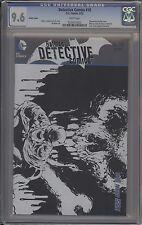 DETECTIVE COMICS #10 - DANIEL B&W LIMITED VARIANT - CGC 9.6 - 0254313022