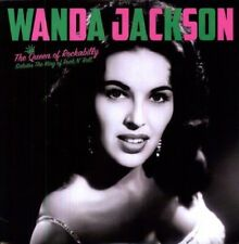 WANDA JACKSON - QUEEN OF ROCKABILLY SALUTES THE KING OF ROCKN'ROLL VINYL LP NEW!